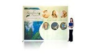 Picture of Ready Pop Fabric Pop Up Display - 10ft Straight
