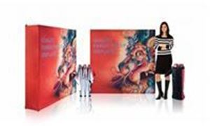 Picture of Ready Pop Fabric Pop Up Display - Small