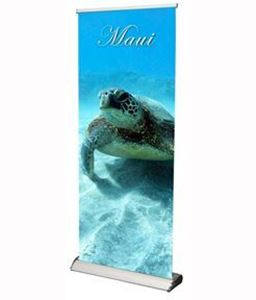 Picture of Standard Banner Stand -- Maui